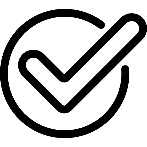 tick checkmark icon